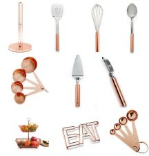martha stewart copper kitchen collection