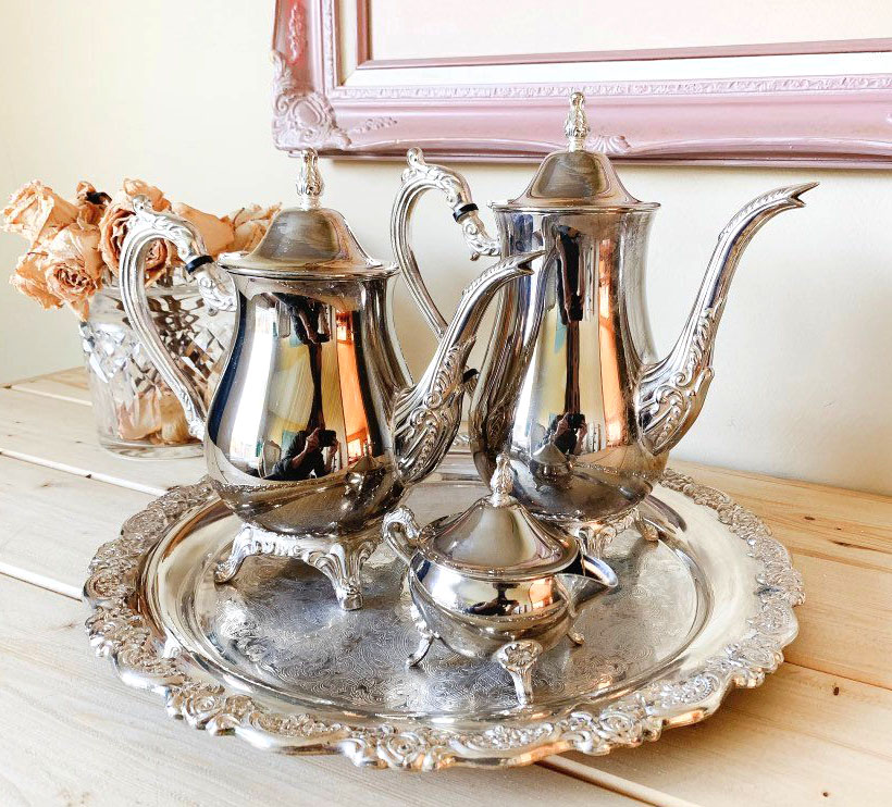 teapot tray set