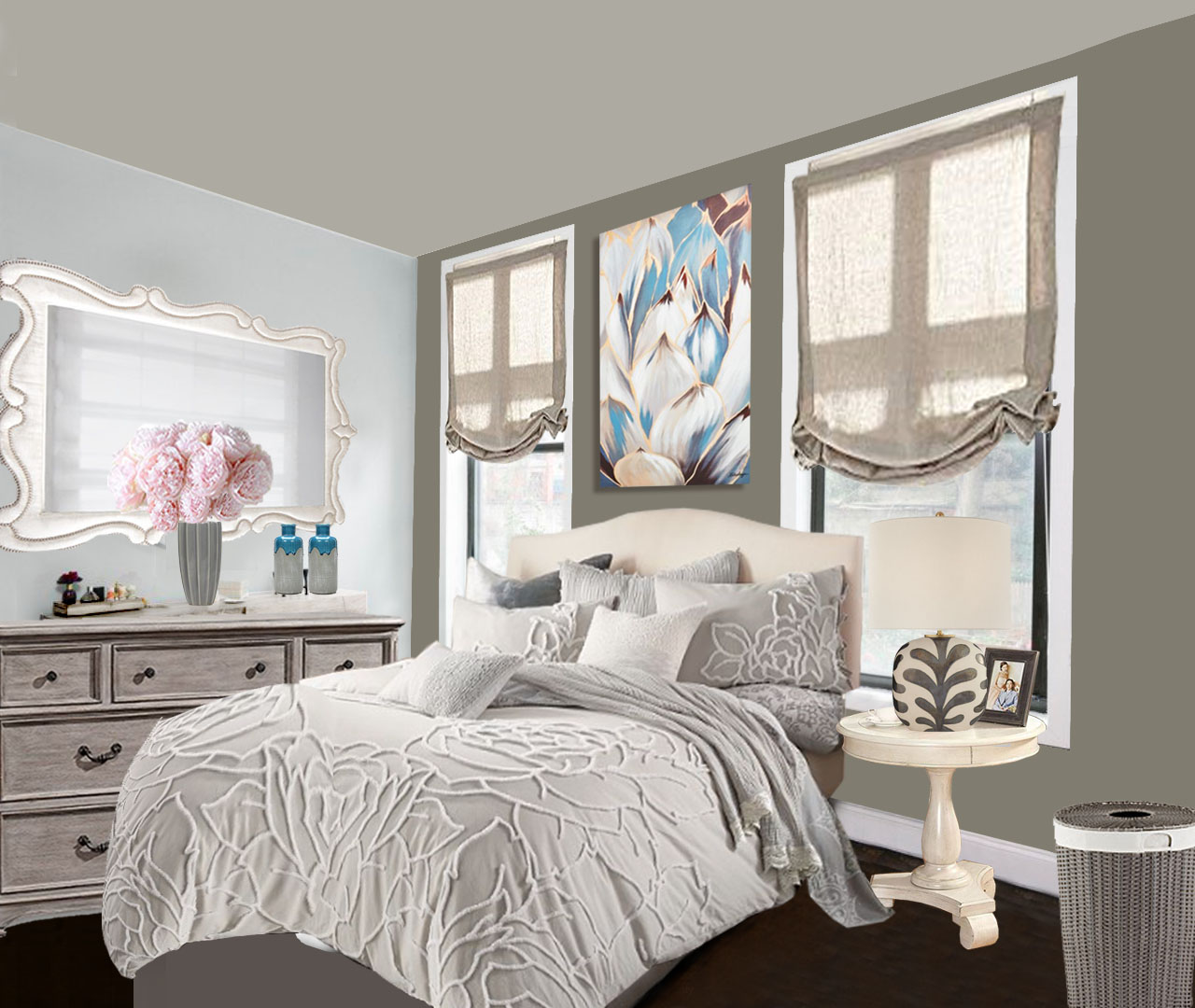 HAVENLY – Contemporary Small NYC Bedroom Redesign by Roche