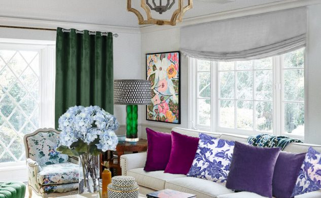 ELLE DECOR Minnie Driver's Hollywood Living Room Redesign by Roche