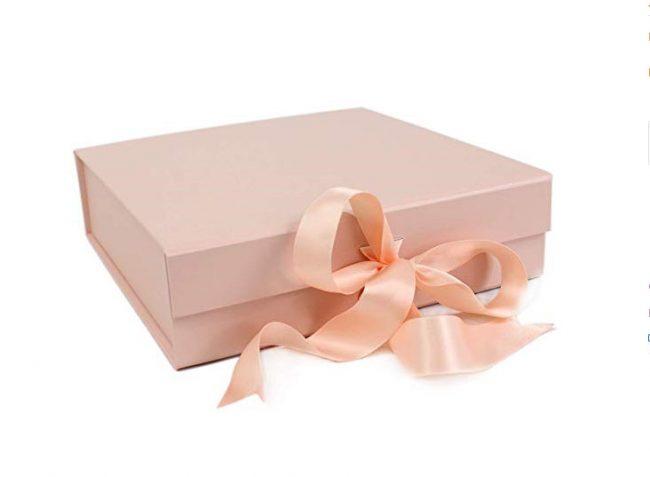 Large Pink Gift Box