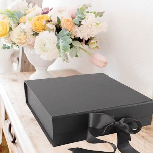 big black gift boxes