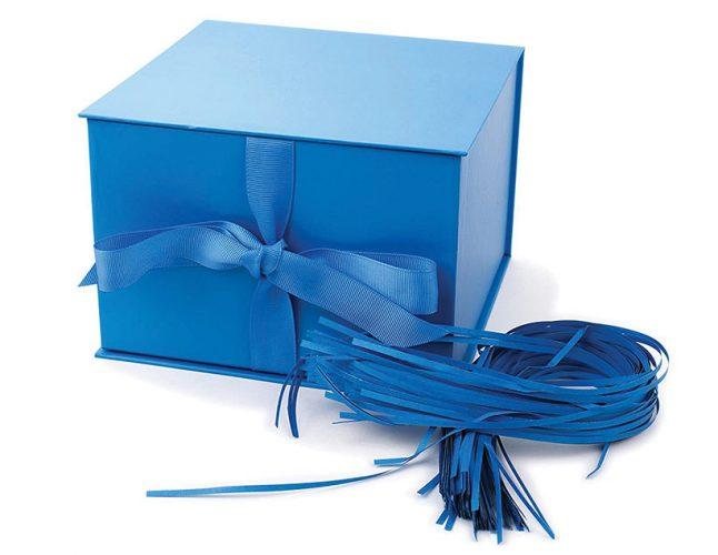 hallmark blue box