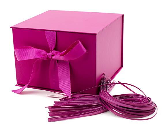 hallmark fuchsia box