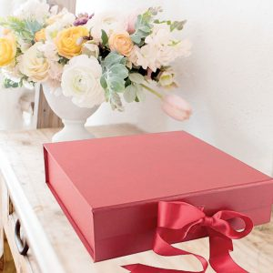 big Red gift boxes