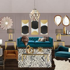 Modsy - Hollywood Glam Living Room