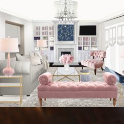 Havenly Living Room Interior Design Project 2019